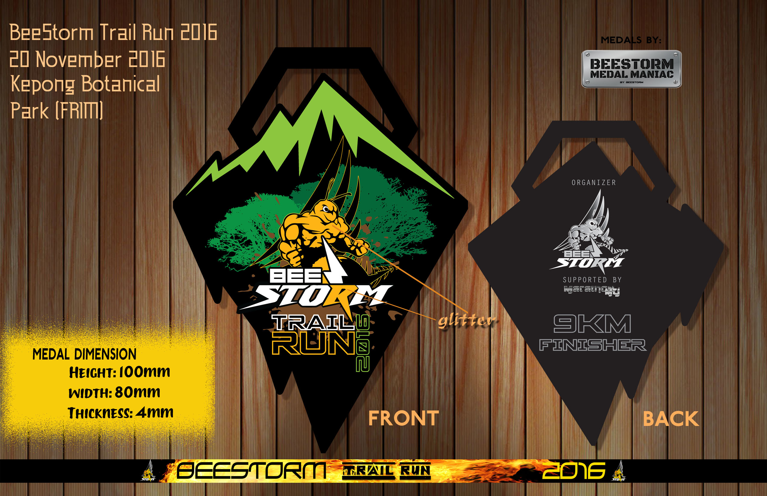 BEESTORM TRAIL RUN 2016