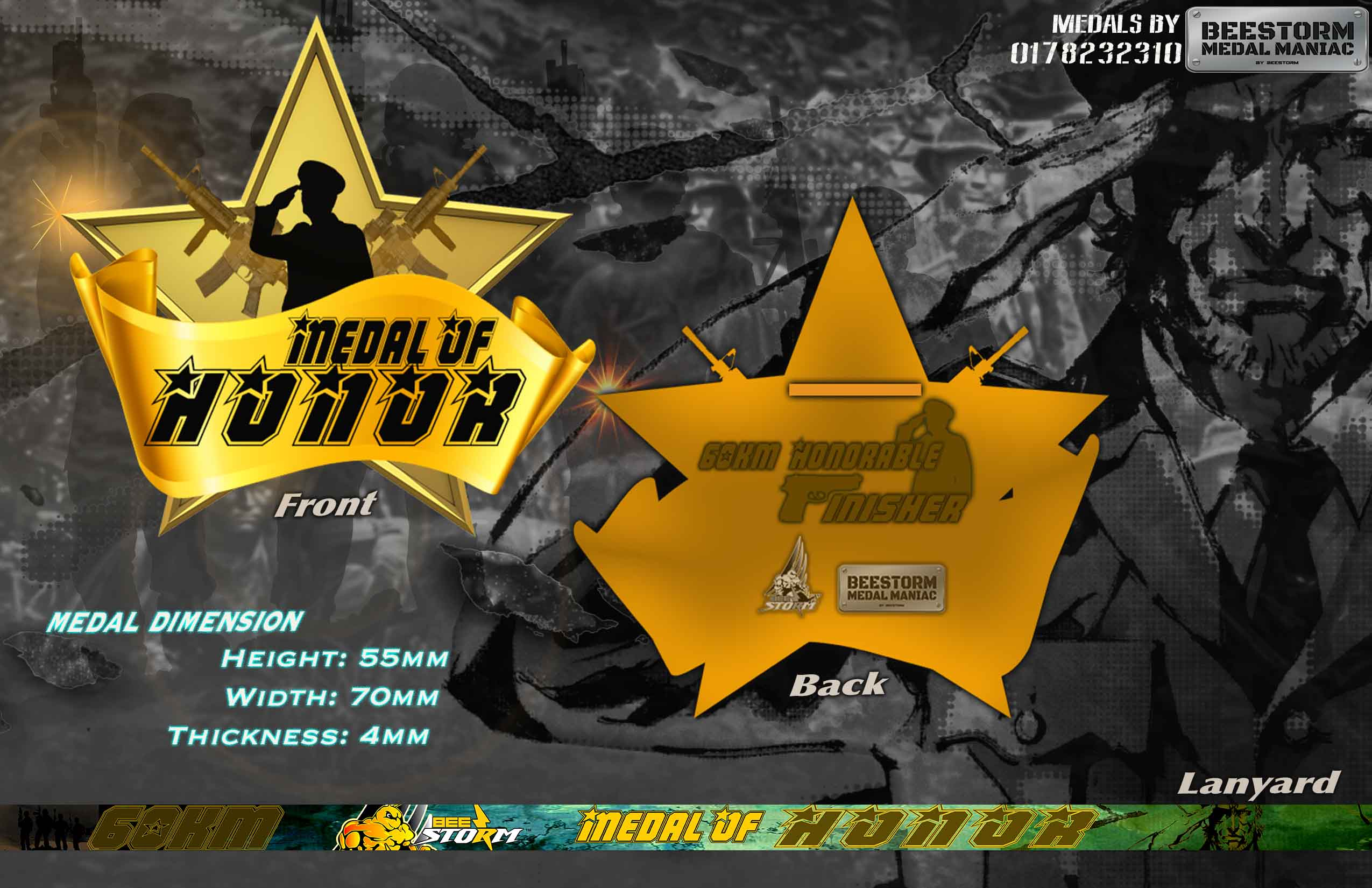 60KM MEDAL OF HONOR (VR)